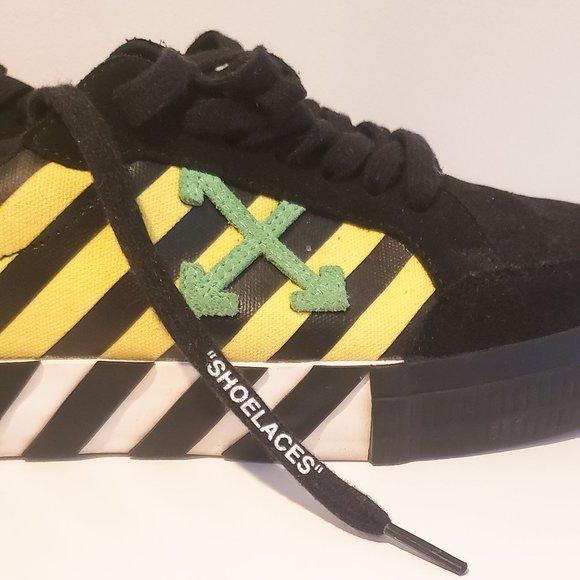 Offwhite Vulc Low Black Yellow Green